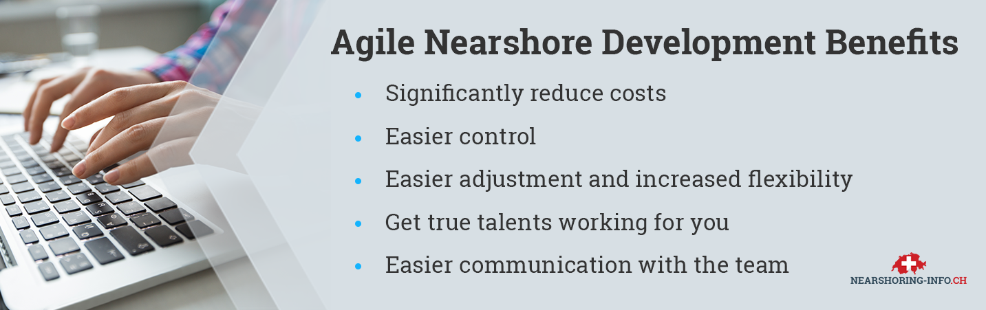 agile nearshore outsourcing benefits