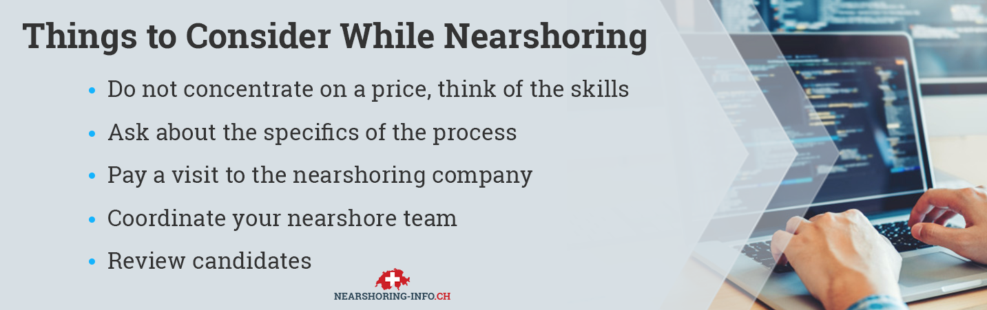 things to know about nearshore model