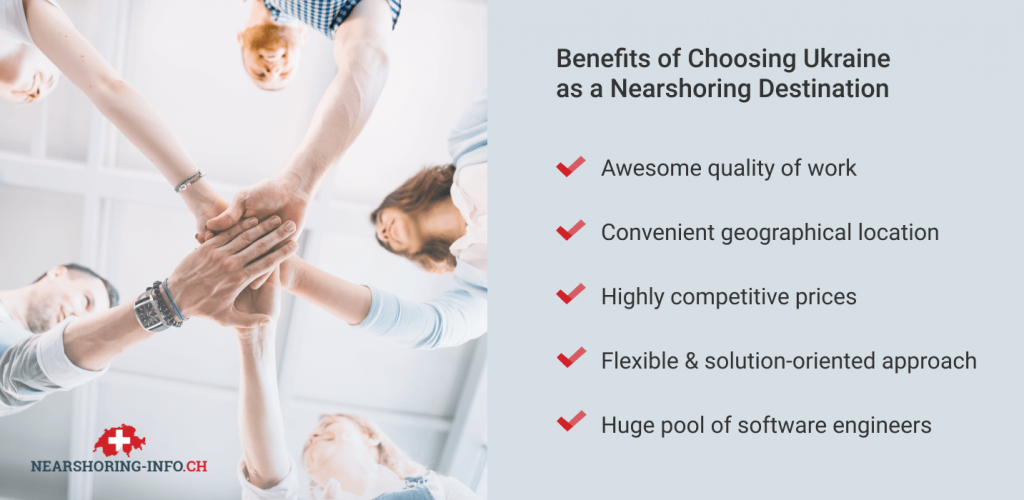benefits of outsourcing in ukraine