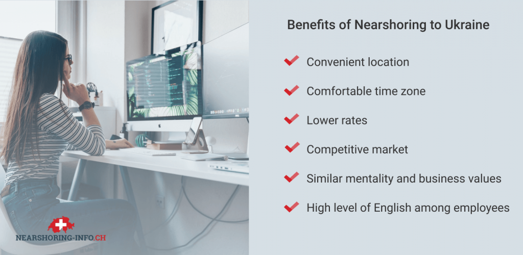 nearshore oursourcing to Ukraine benefits