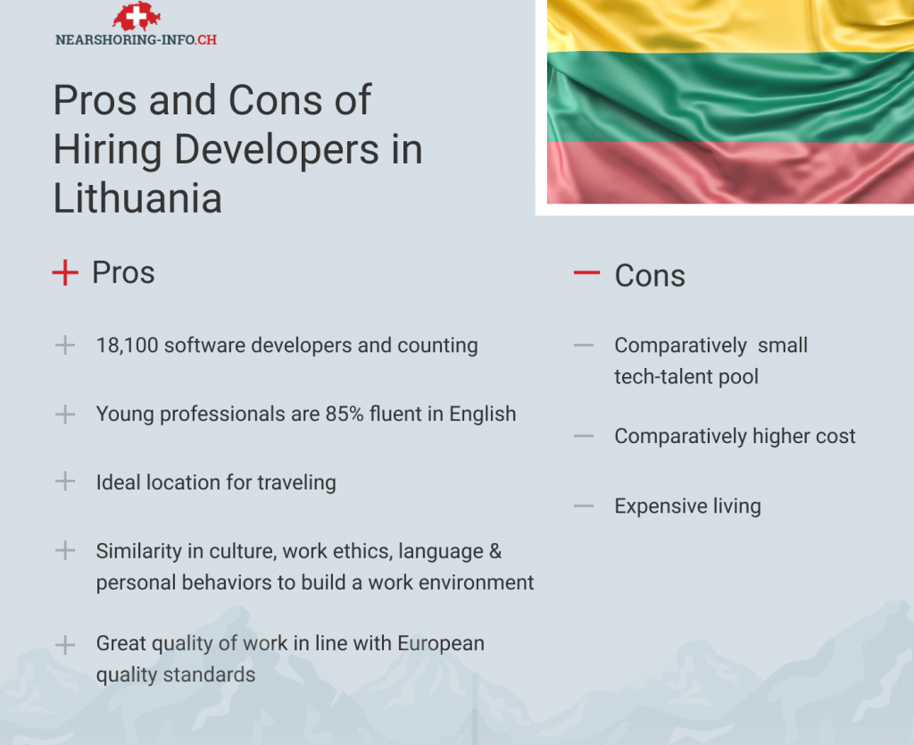 hire developers in lithuania pros and cons