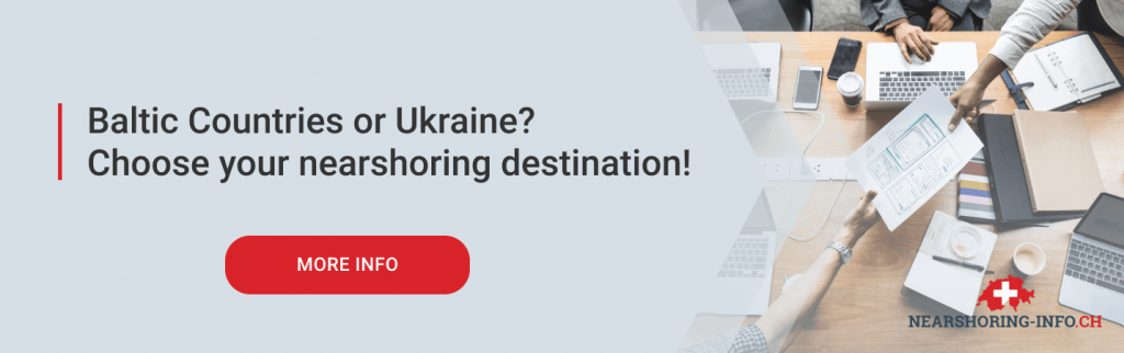 nearshoring to baltic countries or ukraine